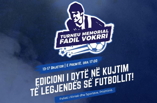 """Fillon turneu memorial në futsall """"Fadil Vokrri"""""""