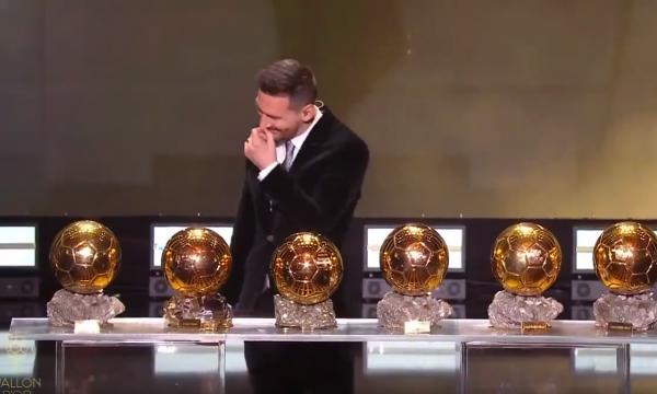 Messi fiton për herë të gjashtë 'Topin e Artë', ja fjalët e tij