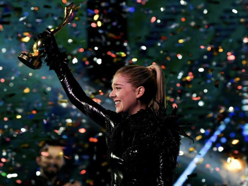 Arilena Ara renditet e para në sondazhin online për Eurovizionin