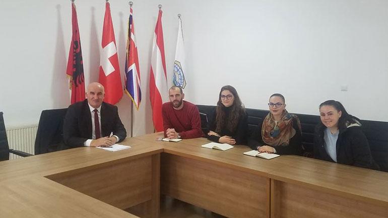 Kryetari i Vitisë priti në takim përfaqësuesit e Organizatës LDA Albania
