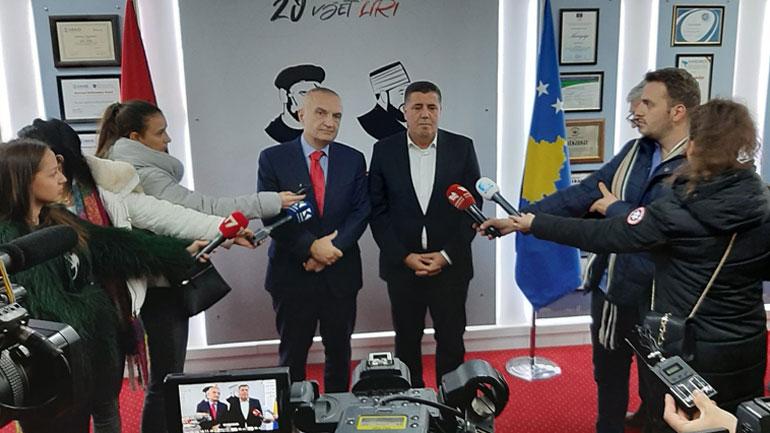 Meta shpreh mirënjohjen më të thellë për Gjilanin për mikpritjen e familjeve nga Shqipëria