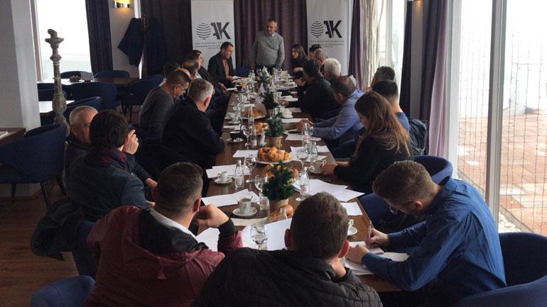 Afaristët e Gjilanit bëjnë thirrje për forcim dhe unifikim të komunitetit te biznesit