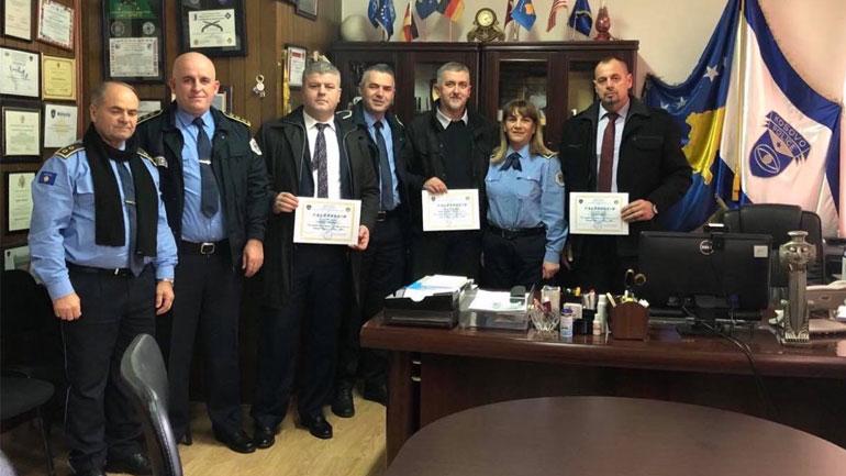 Policia e Kosovës ndan mirënjohjeje për kompani private që kontribuuan në të mirë të qytetarëve