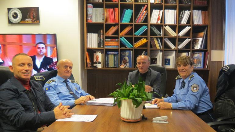 Kryeprokurori i Prokurorisë Themelore në Gjilan priti në takim Drejtoreshën e Policisë Rajonale të Gjilanit