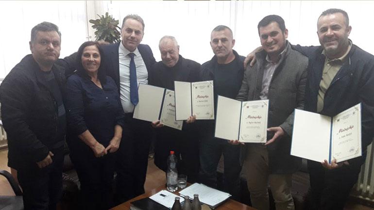 QKMF nderon vullnetarët e Dobërçanit, ndihmuan QMF-në në këtë fshat