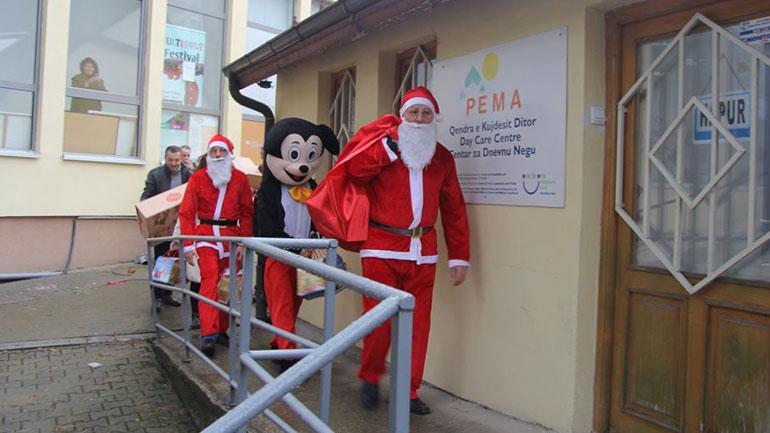 Me dhurata e shfaqje për fëmijë, Gjilani nis aktivitetet për shënimin e festave të fundvitit