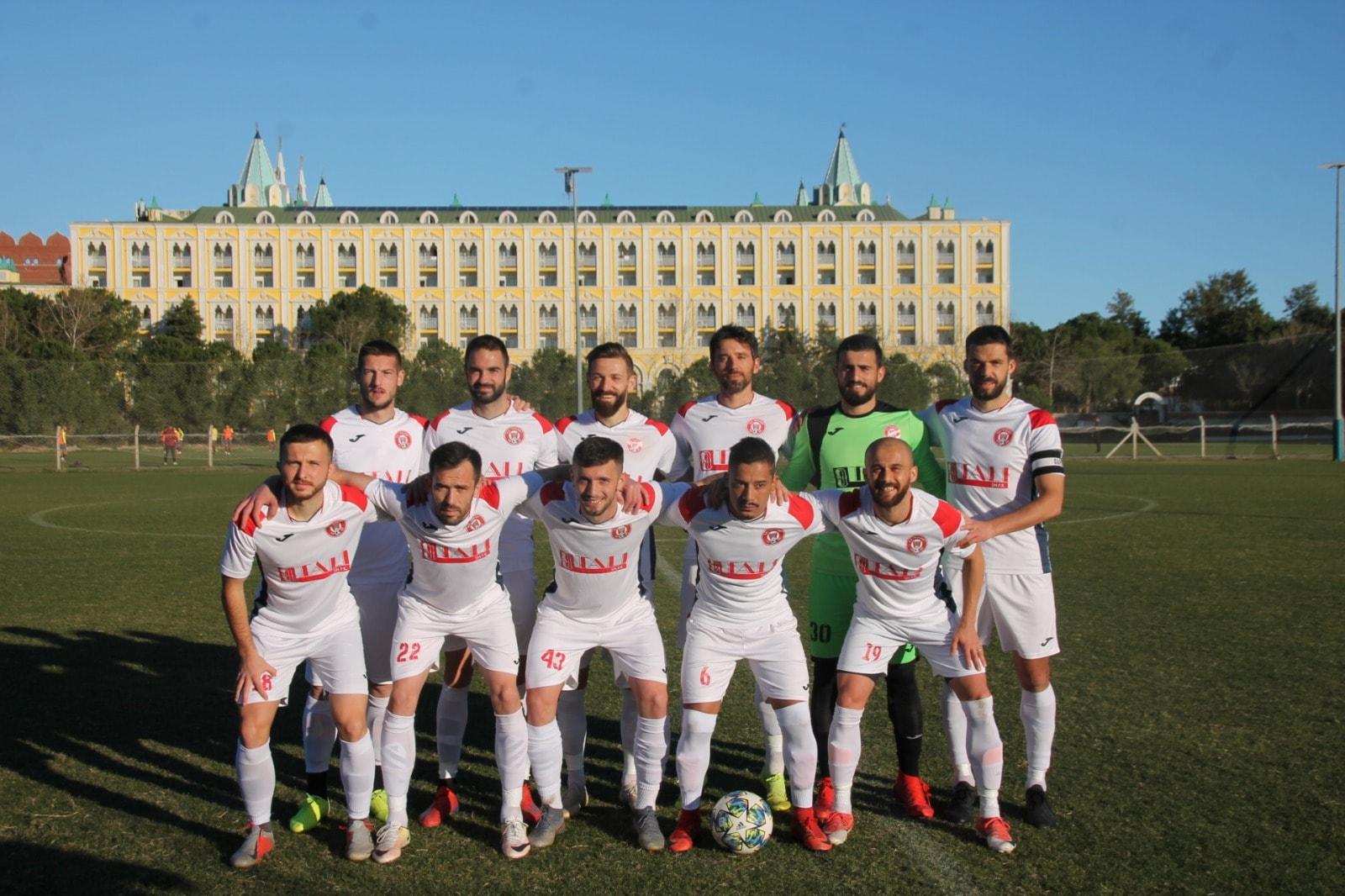 SC Gjilani mposhtet në ndeshjen miqësore në Turqi