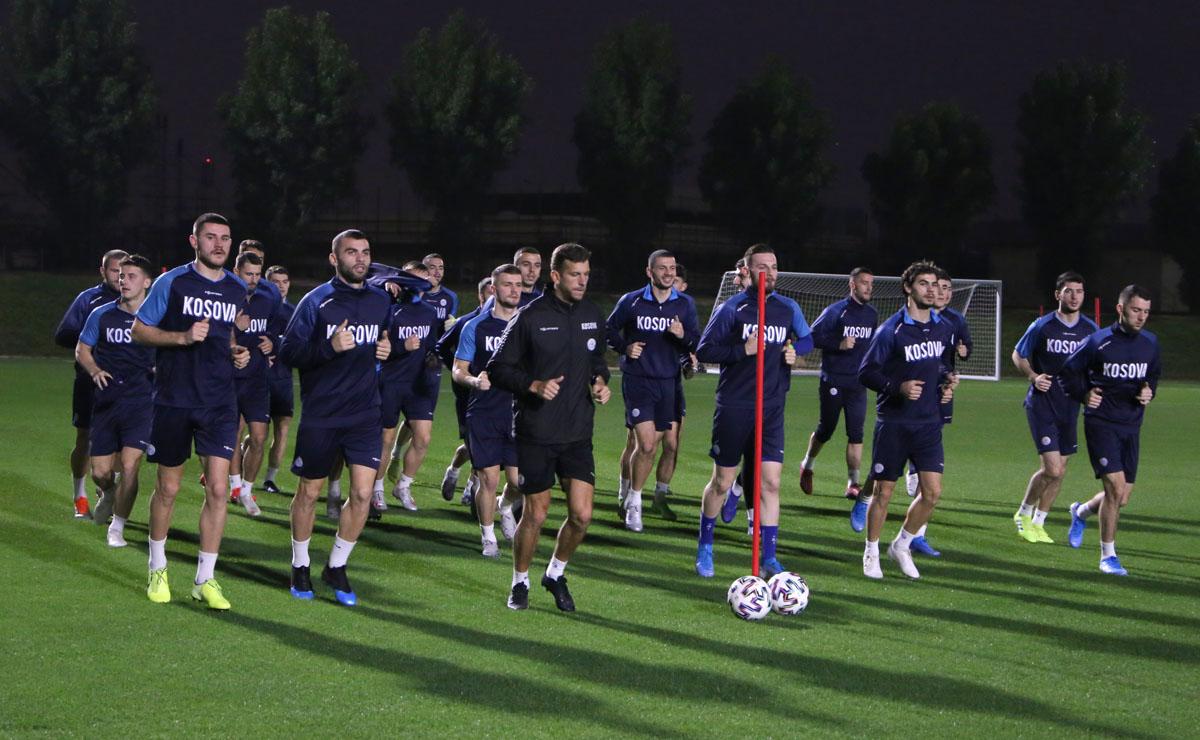 """Angazhim maksimal dhe motiv i lartë i """"Dardanëve"""" në stërvitje në Katar"""