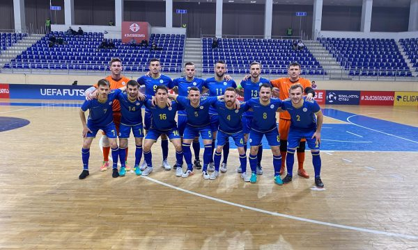 Kosova mposhtet nga Gjeorgjia në futsall