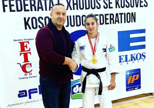Nora Gjakova, xhudistja më e mirë e Kampionatit Shtetëror