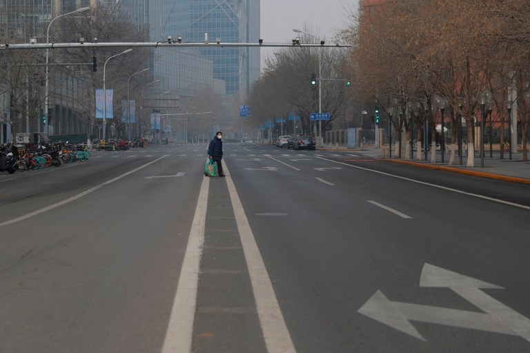 Pekini qytet 'fantazmë', rrugët bosh shkaku i koronavirusit