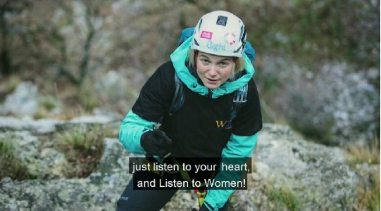 """Fushata """"WE"""" e RCC-së me personazh alpinisten gjilanase, Uta Ibrahimi"""