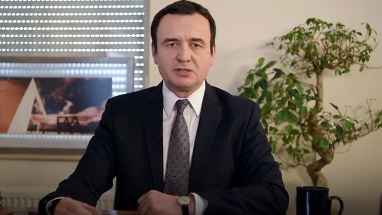 Votohet qeveria me kryeministër Albin Kurti