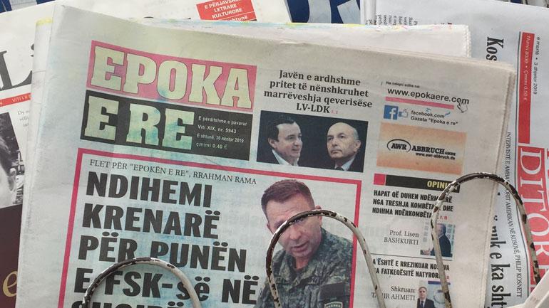 """Gazeta e përditshme """"Epoka e re"""" ka mbushur 20 vjet të rrugëtimit të saj"""