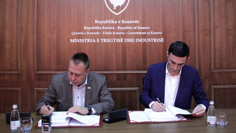 MTI dhe ADA marrëveshje bashkëpunimi për t'i ndihmuar Ndërmarrjet e Vogla dhe të Mesme