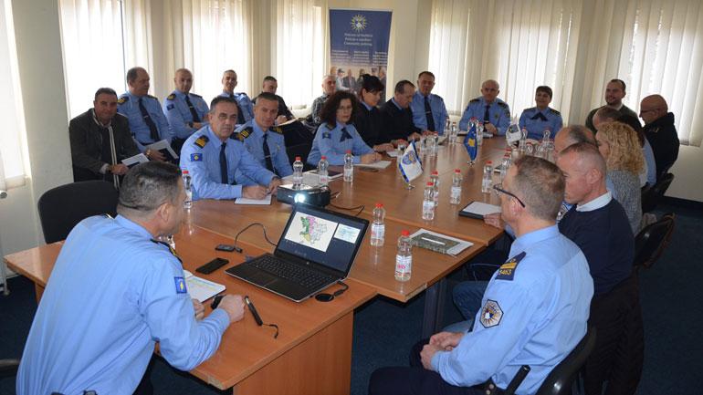 Policia e Kosovës stacioni në Kamenicë prezanton raportin vjetor të vitit 2019