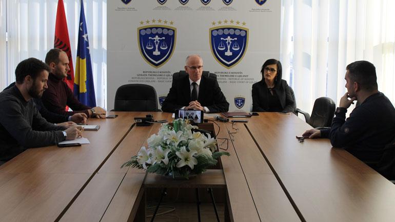 Gjykata Themelor e Gjilanit ka zgjidhur 13.605 lëndë
