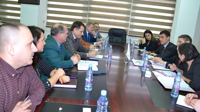Zyrtarë të Ministrisë së Financave dhe Bankës Evropiane për Investime vizituan UKZ
