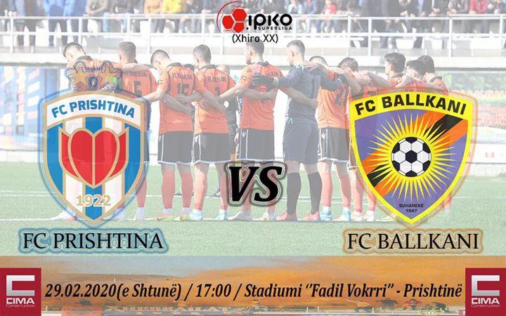 FC Ballkani mobilizohet për ndeshjen ndaj Prishtinës, ka një mesazh për tifozët 'Xhebrailat'