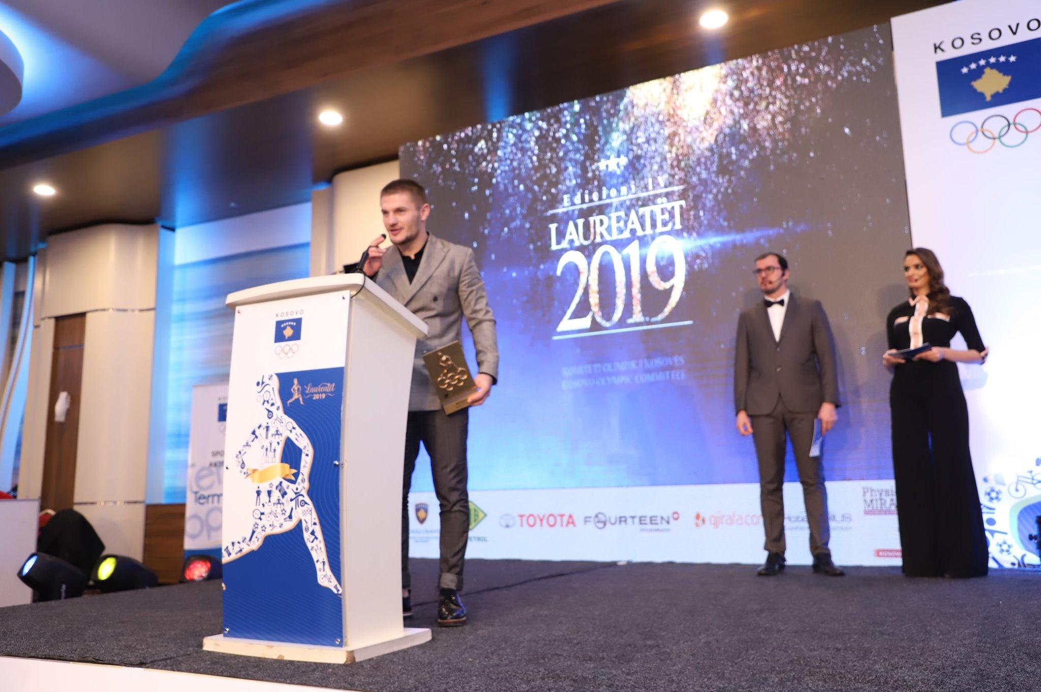 Akil Gjakova – Sportisti i Vitit 2019