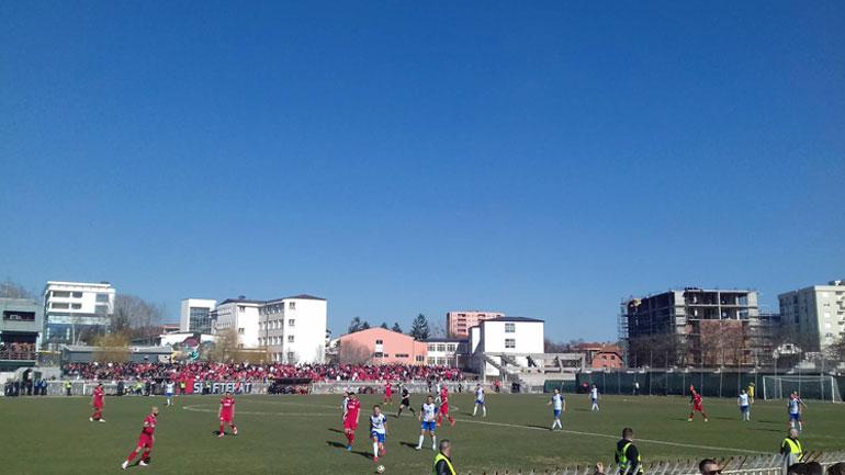 FC Drita triumfon në derbin ndaj SC Gjilanit
