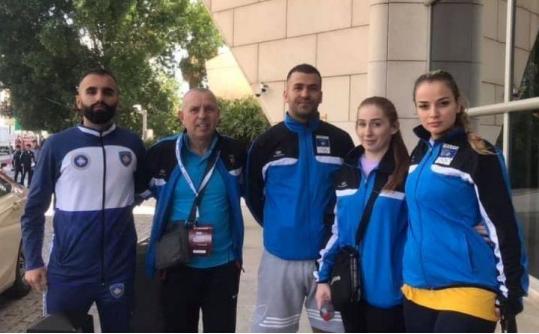 Karateistët nga Kosova synojnë pikët në Dubai, dy nga ta gjilanas