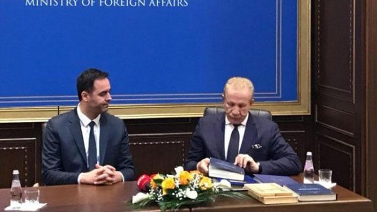 Konjufca pranon detyrën e ministrit të Punëve të Jashtme
