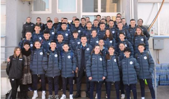 Kombëtarja e Kosovës U19 femrat dhe meshkujt udhëtuan për Itali