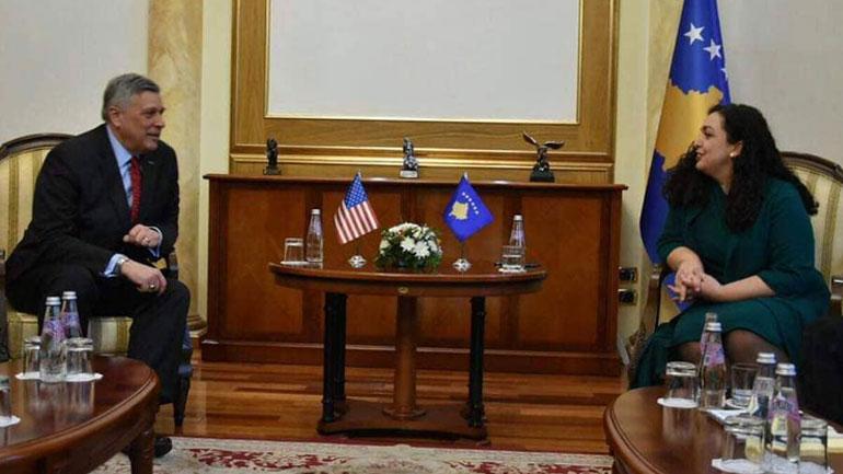 Osmani: Partneriteti me SHBA është ekzistencial për Kosovën
