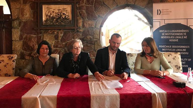 Kamenica nënshkruan marrëveshje bashkëpunimi për matjen e cilësisë së ujit në shkolla