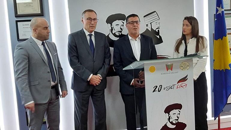 Haziri takon senatorin francez, flasin për bashkëpunim në zhvillimin ekonomik të Gjilanit