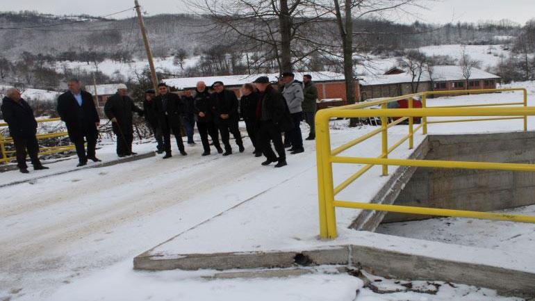 Gjilani ndërton shtatë ura në Karadak, Haziri i lumtur që ua lehtësuan jetën banorëve