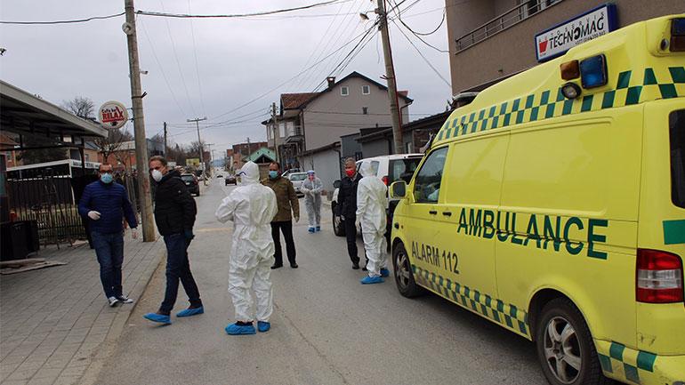 Gjilani aktualisht ka 63 raste aktive me COVID-19