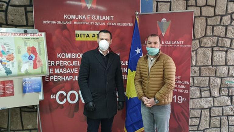 """Gjilani merr mbështetje për 600 familje nga """"Elkos Group"""" dhe """"Devolli Corporation"""""""