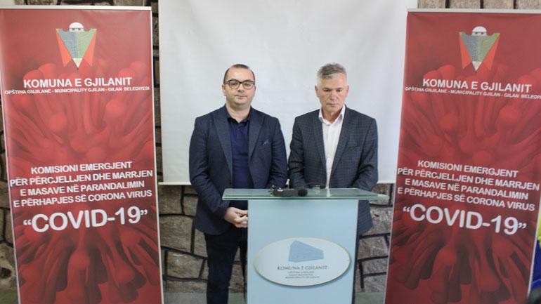 Gjilani takon kryetarët e këshillave të fshatrave dhe lagjeve për preventivë kundër COVID19