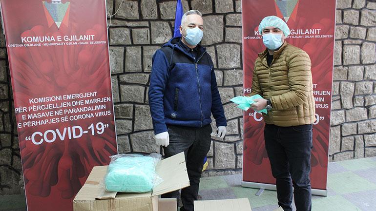 Bizneset e Gjilanit ndihmojnë Komunën për ta përballuar situatën kundër COVID 19