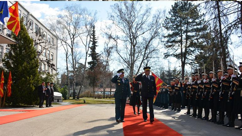 Komandanti i FSK-së, vizitë zyrtare në Republikën e Maqedonisë së Veriut