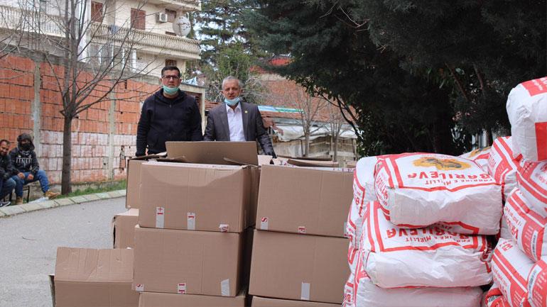"""""""Jetimat e Ballkanit"""" ndihmojnë Gjilanin me 100 pako ushqimore"""
