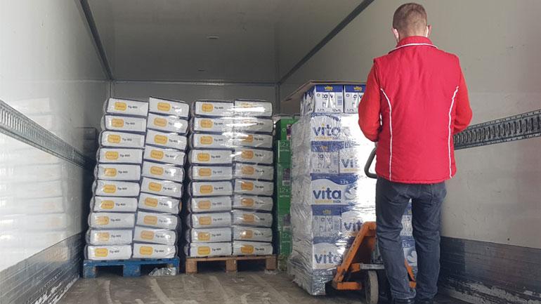 Ndihmohen 400 familje vitiase me pako ushqimore