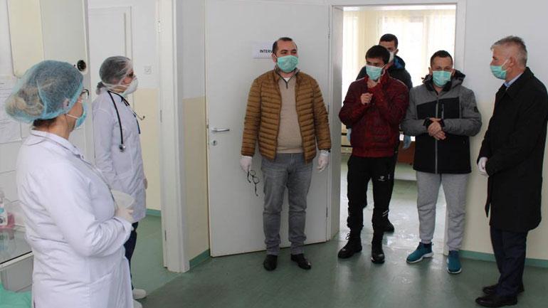 Gatishmëria e Qendrave të Mjekësisë Familjare të Gjilanit në nivelin maksimal