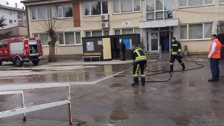 Zjarrëfikësit në vazhdimësi të gatshëm për pastrimin e hapësirave publike të Kamenicës