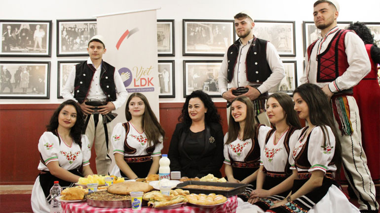 LDK e Gjilanit organizon Sofrën Dardane si simbol i tradicionales