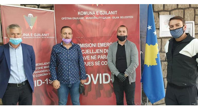 Nënkryetari Ismajli vlerëson ndihmën edhe të vëllezërve Fatmir dhe Gazmend Daku