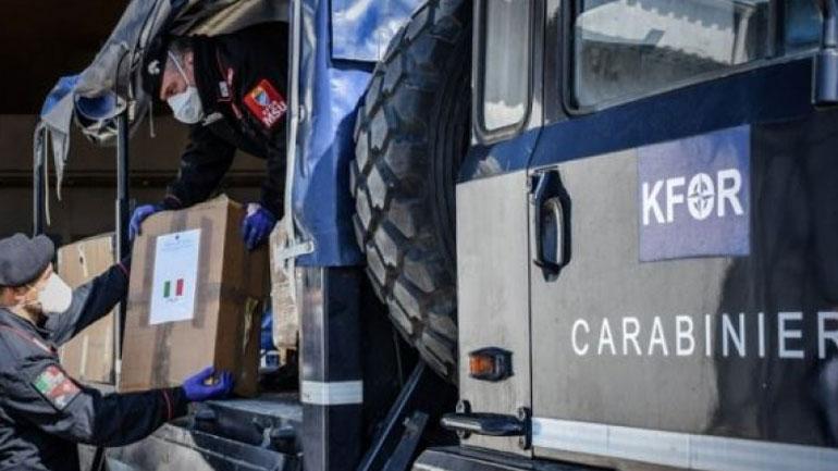 KFOR-i mbështet institucionet shëndetësore në Kosovë që merren me pandeminë COVID-19