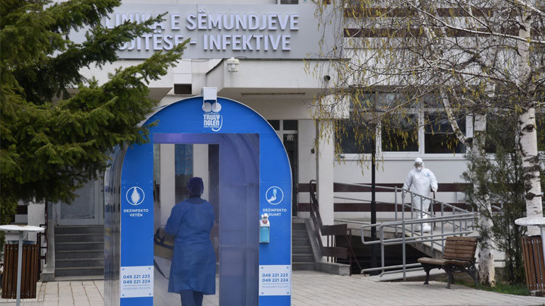Aktualisht në Kosovë janë 8 mijë e 841 raste aktive me COVID-19