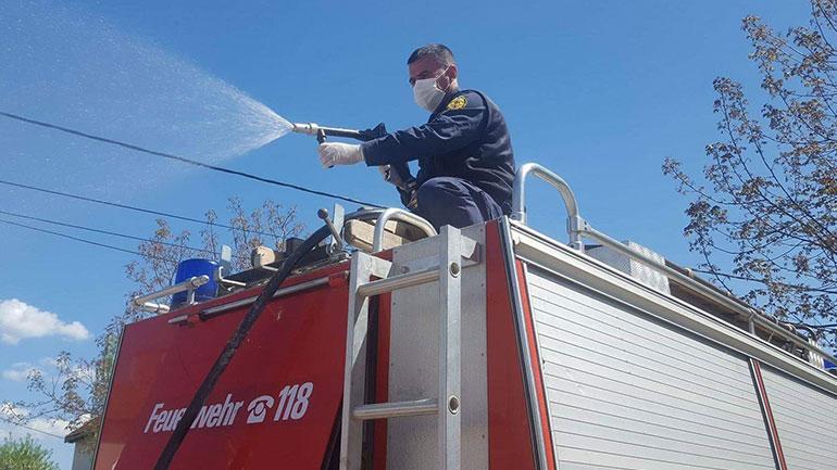 Vitia vazhdon me pastrimin dhe klorifikimin e rrugëve, masë kjo kundër virusit pandemik