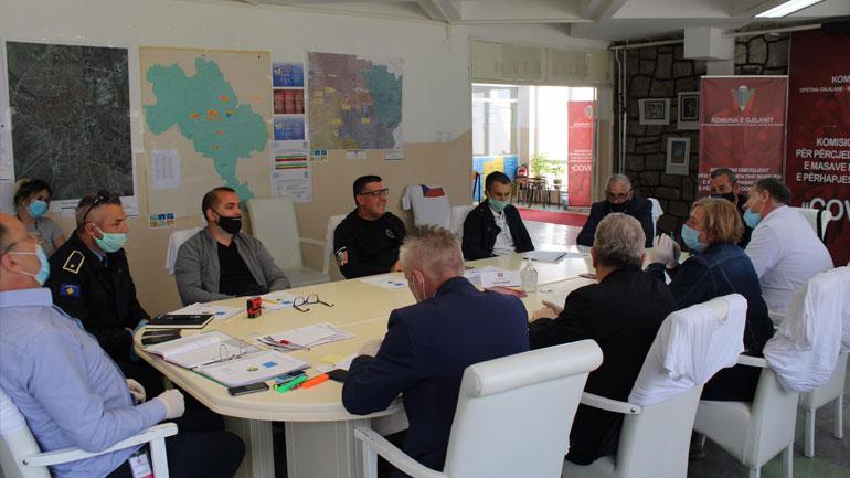 Komiteti i Gjilanit e vlerëson gjendjen të qetë dhe nën kontroll