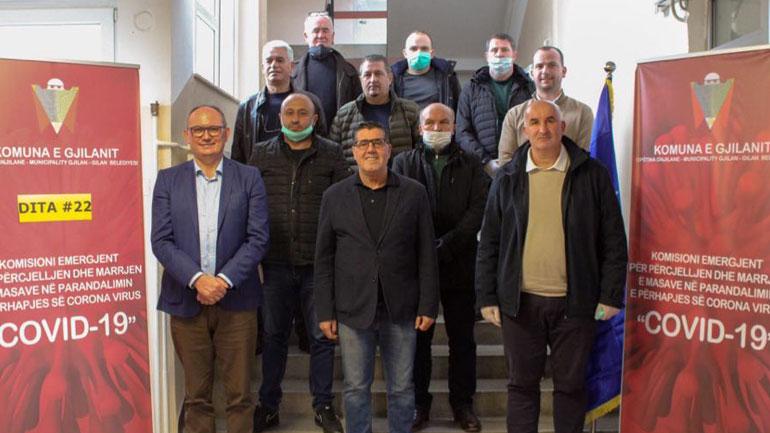 Lutfi Haziri i bënë bashkë 11 kryetarët e regjionit të lindjes për mobilizimin kundër Covid-19