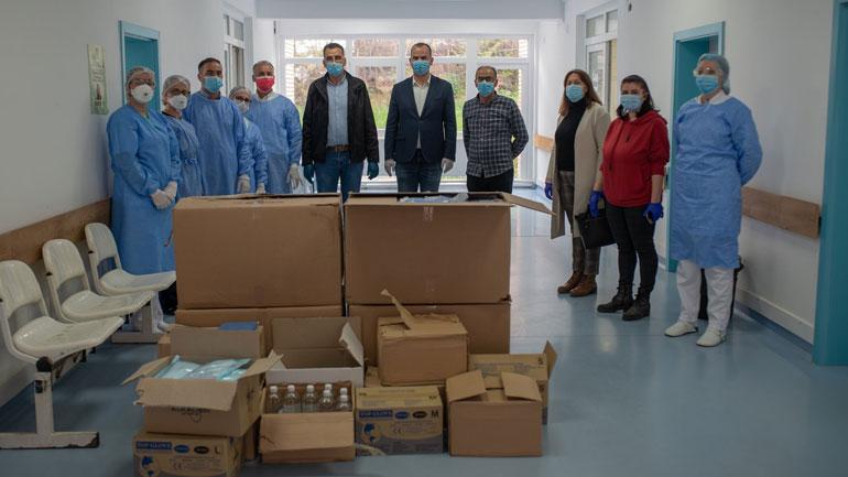 Organizata 'LDS Charities' dhuron donacion me mjete mbrojtëse për QKMF-në