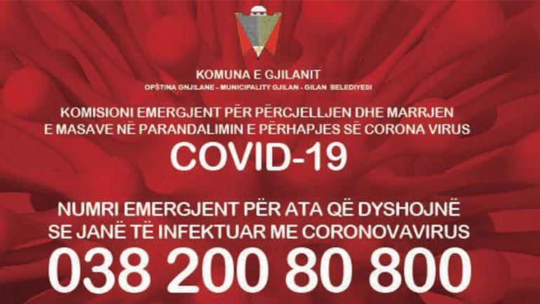 Numri emergjent për ata që dyshojnë se janë të infektuar me Koronavirusi